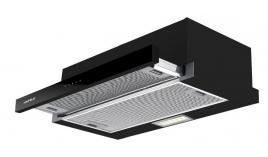 Máy hút mùi âm tủ mặt inox kết hợp kính màu đen Hafele HH-TT70A 533.86.817 - 70cm