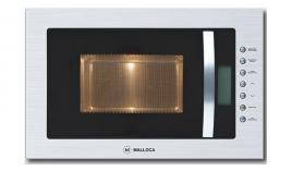 Lò vi sóng âm tủ Malloca viền inox MW-927I - 27L