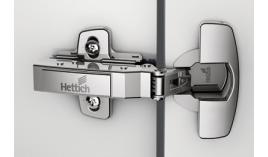 Bản lề Sensys giảm chấn 110 độ trùm ngoài Hettich HP110-F