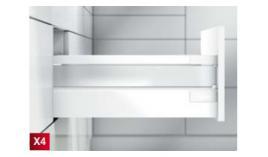 Ray hộp Antaro X4 thành hộp kính đen 30kg C 196mm 551.23.303