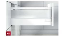 Ray hộp Antaro X5 vách kính đen 30kg D 228mm 551.23.304