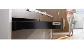 Ray hộp TANDEMBOX  Antaro X1 giảm chấn đen 50kg M 98,5mm 551.23.350