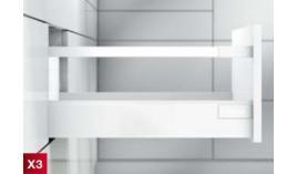 Ray hộp Antaro X3 giảm chấn trắng 30kg D 228mm 550.85.705