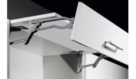 Bộ tay nâng 2 cánh tủ HF Hettich LA611-HFS
