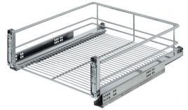 Rổ kéo Wire basket 500mm gắn với cửa tủ Hafele 540.24.185