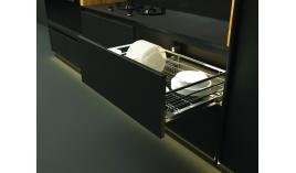 Bộ rổ úp chén dĩa CAPPELLA cho tủ R600mm mạ chrome Cucina 549.08.204