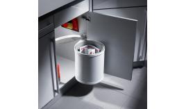 Thùng rác treo bằng thép cho cửa bản lề rộng 300mm Hafele 502.12.729