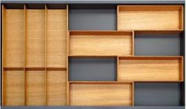 Khay chia gỗ Hafele Fineline cho ngăn kéo R900mm 556.05.416