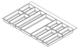 Khay chia Classico xám nhạt cho tủ kéo bếp 900mm Hafele 556.52.549
