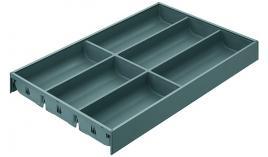 Khay chia cho ray hộp Legrabox xám chiều cao M Blum ZC7S500BS3 550.80.504