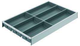 Khay chia cho ray hộp Legrabox trắng chiều cao M Blum ZC7S500BS3 550.80.704