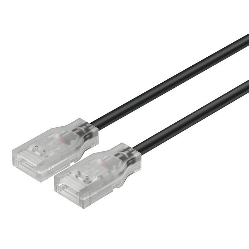 Dây nối dài 50mm cho đèn Led dây silicone Hafele Loox5 rộng 8mm 833.89.203