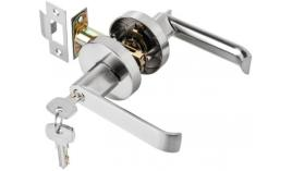 Bộ khóa tay nắm cửa đi dạng cong Hafele 499.63.970
