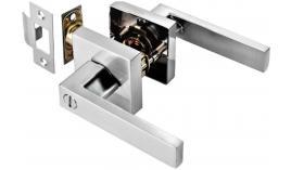 Bộ khóa tay nắm cửa WC dạng thẳng Hafele 499.63.973